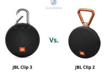JBL Clip 2 vs 3 – Check Why JBL Clip 3 is Best Speaker!